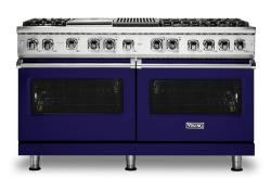 Brand: Viking, Model: VDR5606GQSBLP, Fuel Type: Cobalt Blue, Natural Gas