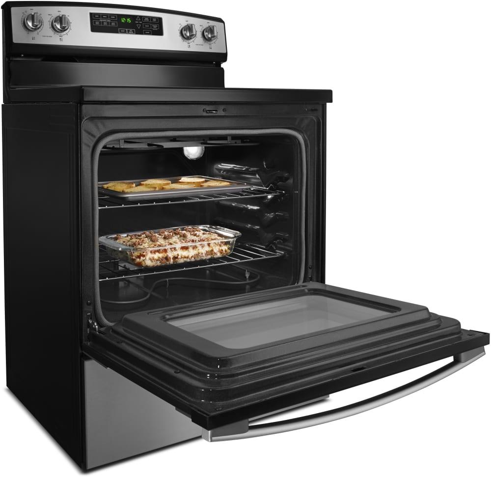 Amana 30 Inch Electric Range With 4.8 Cu. Ft. Capacity, 4