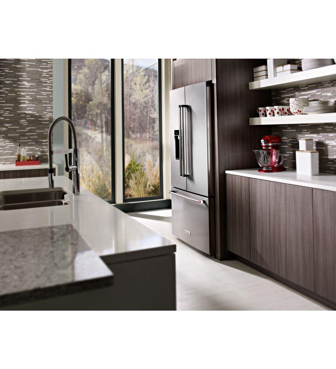 Kitchenaid Krfc704fss 23 8 Cu Ft Counter Depth French