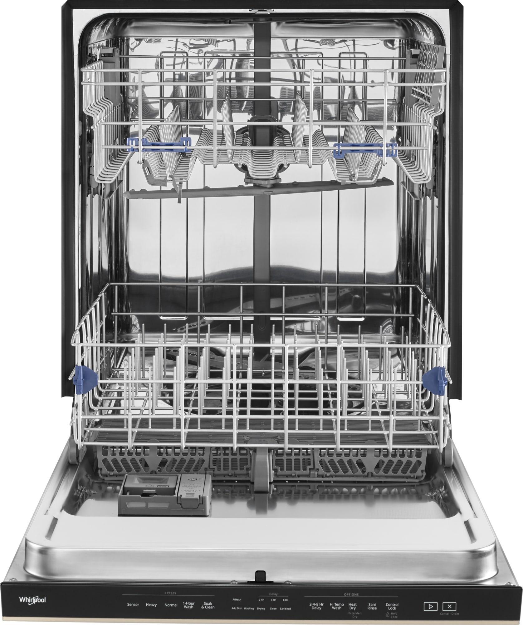 Wdta50sahz Whirlpool Wdta50sahz Built In Dishwashers