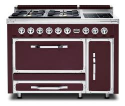 Brand: Viking, Model: TVDR4802GISS, Color: Bordeaux