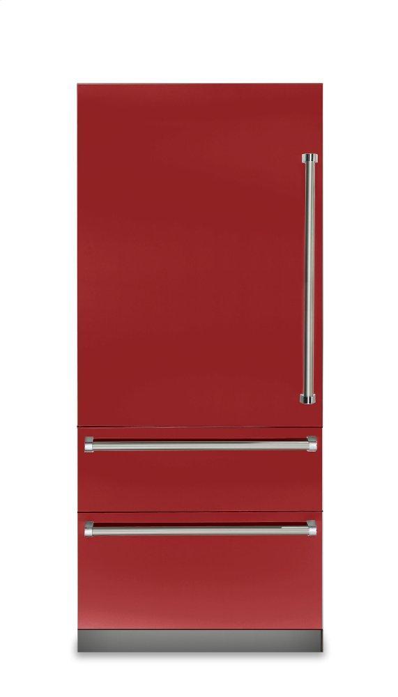 Viking 36 Inch Bottom Freezer Refrigerator With 19 95 Cu