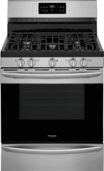 Brand: Frigidaire, Model: FGGF3036T, Color: Stainless Steel