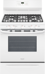 Brand: Frigidaire, Model: FGGF3036T, Color: White