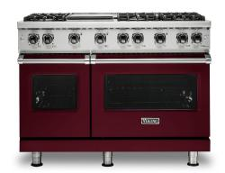 Brand: Viking, Model: VGR5486GSSLP, Color: Burgundy, Natural Gas