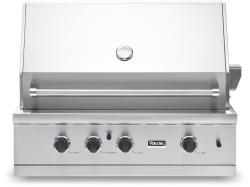 Brand: Viking, Model: VGBQ33603RENSS, Color: Natural Gas