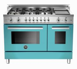 Brand: Bertazzoni, Model: PRO486GDFSBILP, Color: Azurro, Natural  Gas