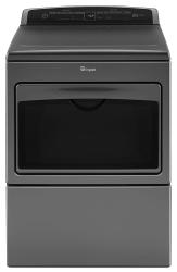 Brand: Whirlpool, Model: WED7500GW, Color: Chrome Shadow