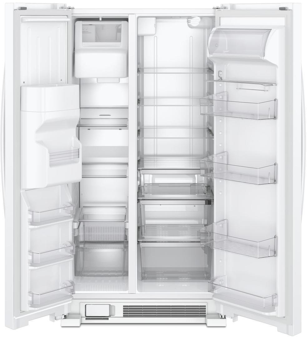 Wrs321sdhb Whirlpool Wrs321sdhb Side By Side Refrigerators
