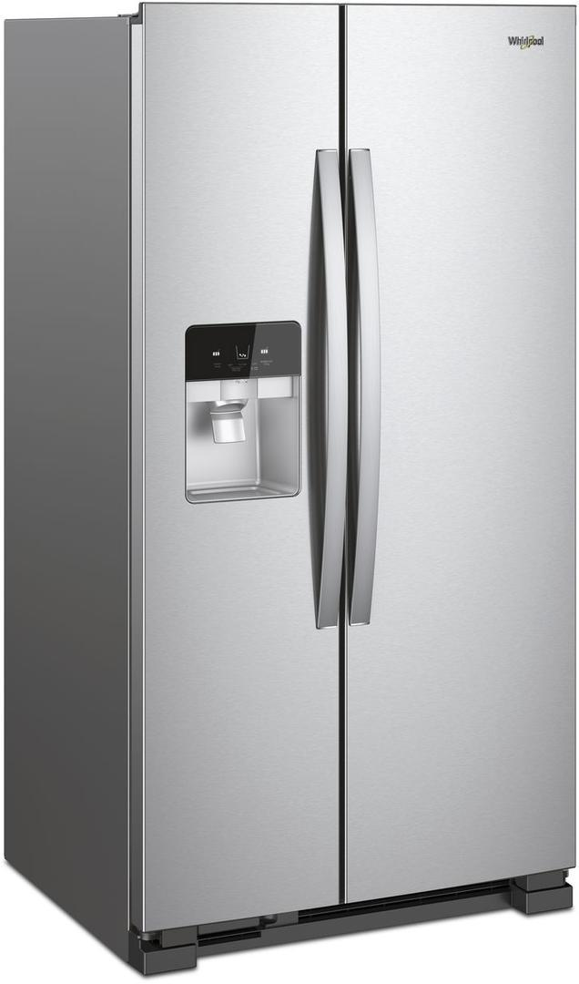 Whirlpool 36 Inch Freestanding Side By Side Refrigerator