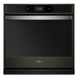 Brand: Whirlpool, Model: WOS72EC0HW, Color: Fingerprint Resistant Black Stainless
