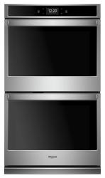 Brand: Whirlpool, Model: WOD77EC7HV, Color: Stainless Steel