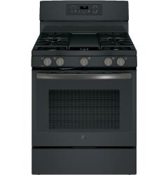 Brand: General Electric, Model: JGB700DEJWW, Color: Black Stainless