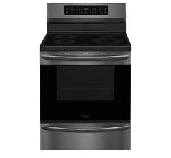 Brand: Frigidaire, Model: FGIF3036TF, Color: Black Stainless Steel