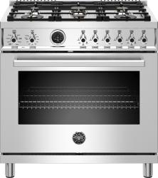 Brand: Bertazzoni, Model: PROF366DFSART, Color: Stainless Steel