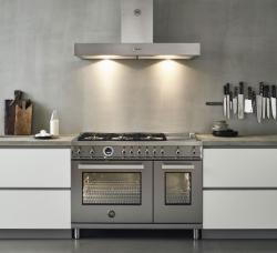 Brand: Bertazzoni, Model: PROF486GGASGIT, Color: Stainless Steel