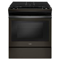 Brand: Whirlpool, Model: WEG515S0FS, Color: Black Stainless
