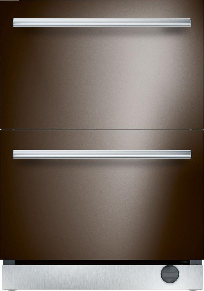Thermador 24 Inch Under Counter Double Drawer Refrigerator