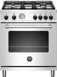 Brand: Bertazzoni, Model: MAST304GASXV, Color: Stainless Steel, Natural Gas