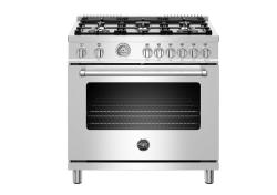 Brand: Bertazzoni, Model: MAST366GASXT, Color: Stainless Steel, Liquid Propane