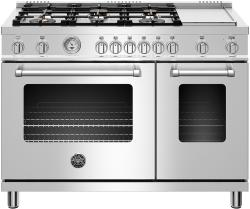 Brand: Bertazzoni, Model: MAST486GGASXT, Color: Stainless Steel