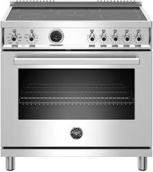 Brand: Bertazzoni, Model: PROF365INSGIT, Color: Stainless Steel