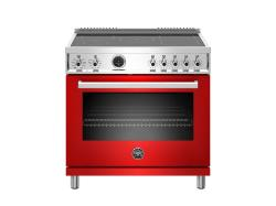Brand: Bertazzoni, Model: PROF365INSART, Color: Red