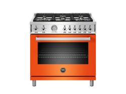 Brand: Bertazzoni, Model: PROF366GASNET, Color: Stainless Steel, Natural Gas