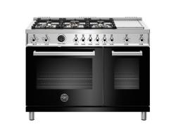 Brand: Bertazzoni, Model: PROF486GDFSNETLP, Color: Nero