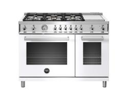 Brand: Bertazzoni, Model: , Color: White, Natural Gas
