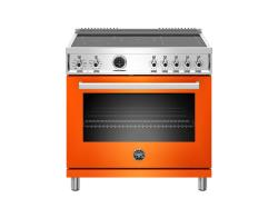 Brand: Bertazzoni, Model: PROF365INSART, Color: Orange