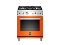 Brand: Bertazzoni, Model: PROF304GASGITLP, Color: Orange, Natural Gas