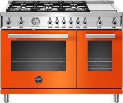 Brand: Bertazzoni, Model: PROF486GGASBIT, Color: Orange, Liquid Propane