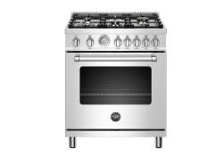 Brand: Bertazzoni, Model: MAST305GASXE, Color: Stainless Steel - Natural Gas
