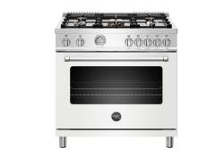Brand: Bertazzoni, Model: MAST365DFMNEE, Color: Matte White