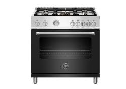 Brand: Bertazzoni, Model: MAST365DFMNEE, Color: Matte Black