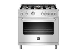Brand: Bertazzoni, Model: MAST365DFMXE, Color: Stainless Steel