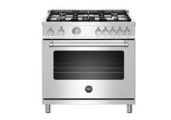 Brand: Bertazzoni, Model: MAST365GASBIE, Color: Stainless Steel, Natural Gas