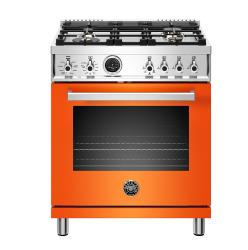 Brand: Bertazzoni, Model: PROF304DFSROT, Color: Orange