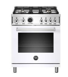 Brand: Bertazzoni, Model: PROF304DFSGIT, Color: White, Natural Gas