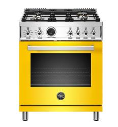 Brand: Bertazzoni, Model: PROF304DFSROT, Color: Yellow