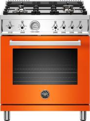 Brand: Bertazzoni, Model: PROF304GASROT, Color: Orange, Liquid Propane