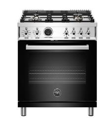Brand: Bertazzoni, Model: PROF304DFSROT, Color: Black