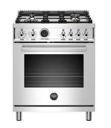 Brand: Bertazzoni, Model: PROF304DFSROT, Color: Stainless Steel