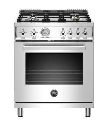 Brand: Bertazzoni, Model: PROF304GASGITLP, Color: Stainless Steel, Liquid Propane