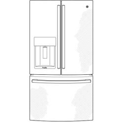 Pye22ke General Electric Pye22ke French Door Refrigerators