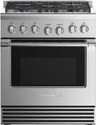 Brand: Fisher Paykel, Model: RDV2305N, Color: Liquid Propane