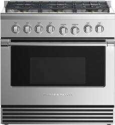 Brand: Fisher Paykel, Model: RGV2366L, Color: Liquid Propane