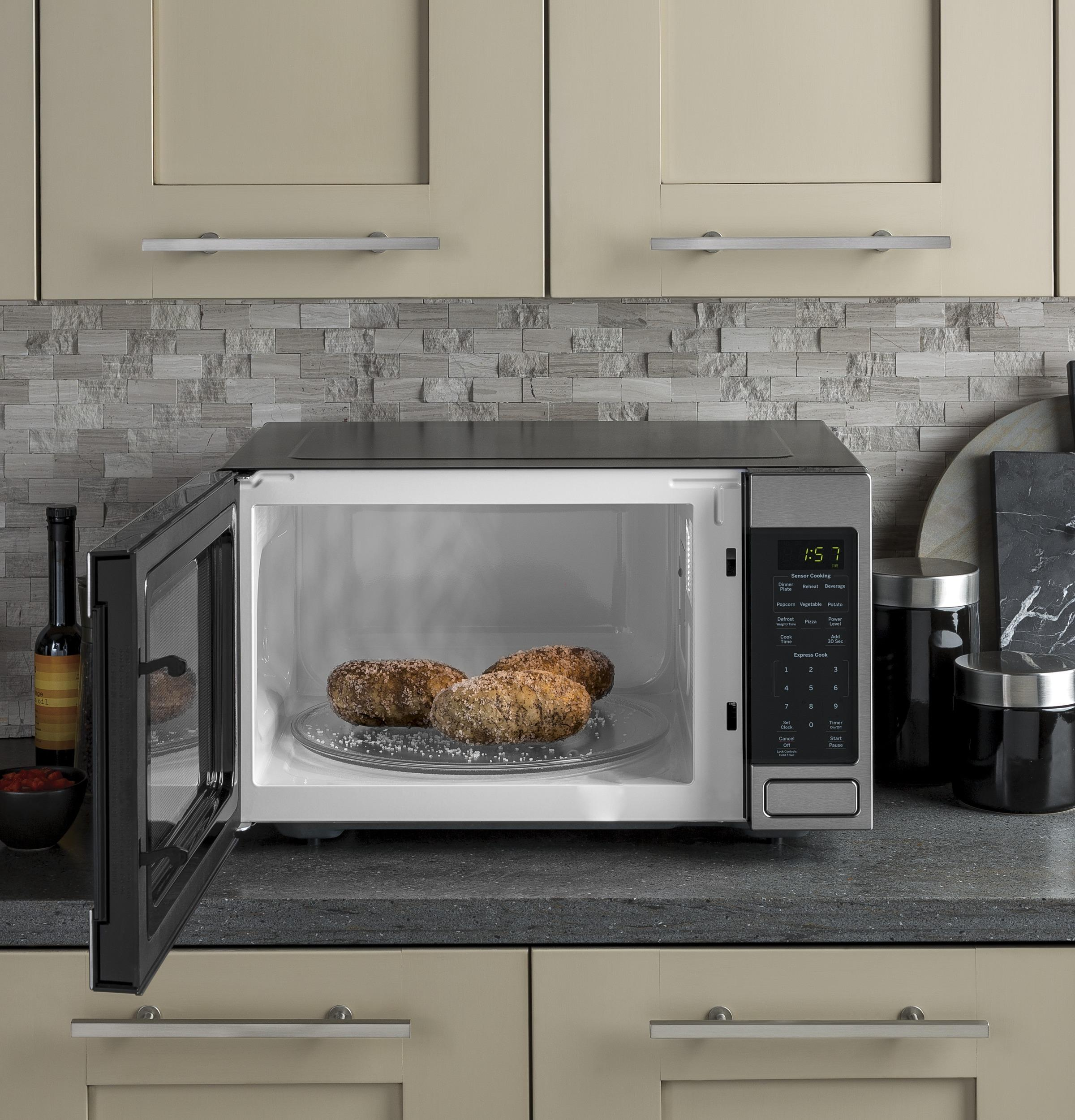 General Electric Jes1657smss Ge R 1 6 Cu Ft Countertop