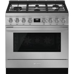Brand: SMEG, Model: CPF36UGGR, Color: Stainless Steel